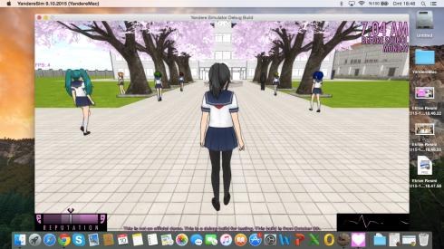 Yandere Simulator For Mac